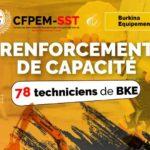 Opérationnalisation de la session de renforcement des capacités des équipes techniques de Burkina Equipements (BKE) sur les modules tels que le JSC, le PPSPS, la conduite offensive et défensive, la technique de conduite sécuritaire sur les sites miniers : le CFPEM-SST déploie son expertise à SEMAFO Wona